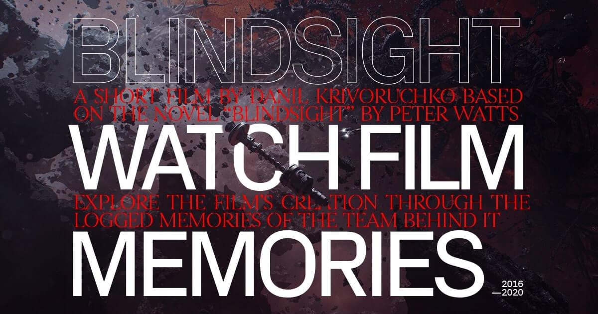 Короткометражка по Blindsight (ака Ложная слепота)